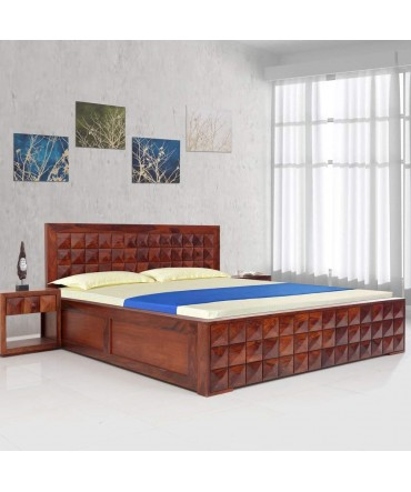 Diamond king size bed