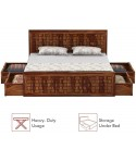 Coral King Size Bed