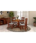 Round Compact Dining Set
