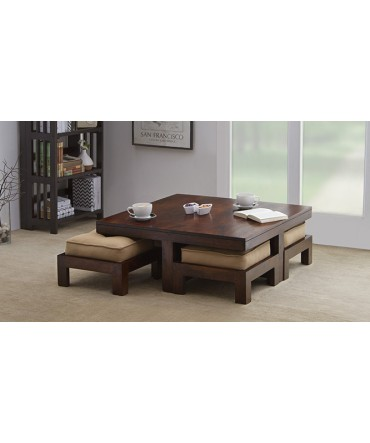 Four Stool Coffee Table
